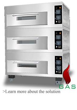 FF Gas Deck Oven